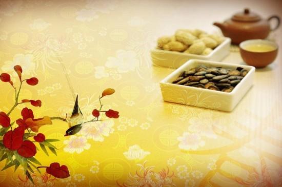 中国传统节日背景