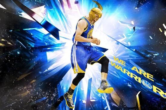 NBA篮球明星斯蒂芬·库里