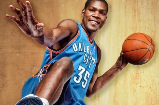 篮球巨星杜兰特