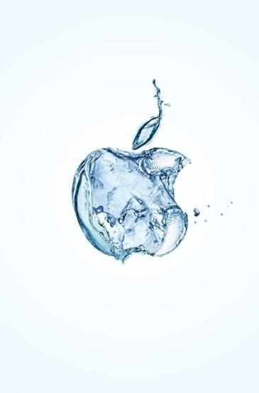 创意苹果屏保