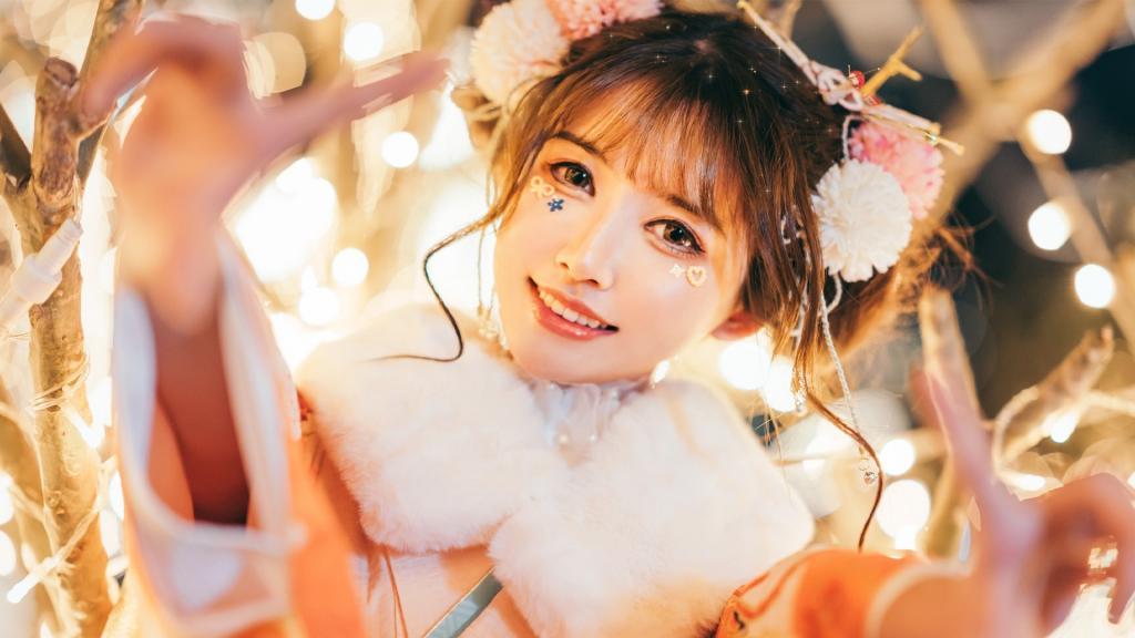 和服少女甜美可人写真