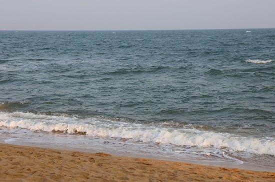 清爽迷人的大海风光