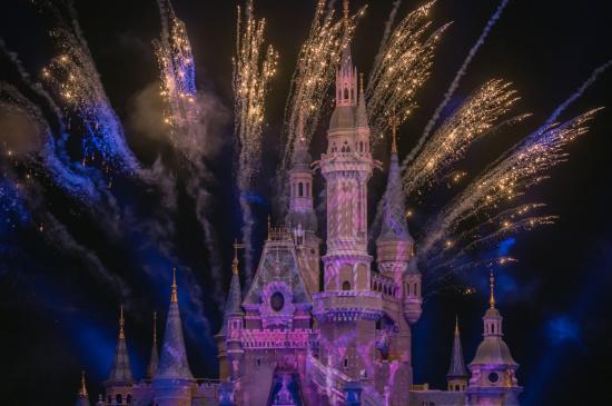 迪士尼的童话夜晚