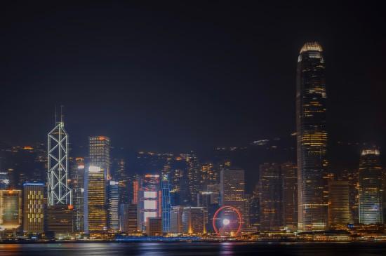 上海城市的绝美夜景