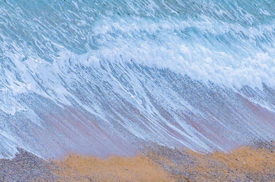 挪威湛蓝的大海