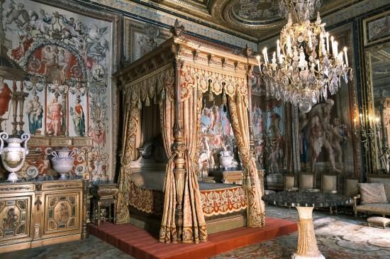 欧洲的古典宫殿建筑风光