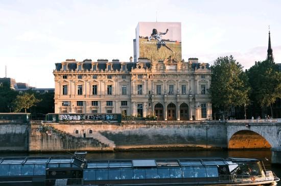 巴黎街头的街景