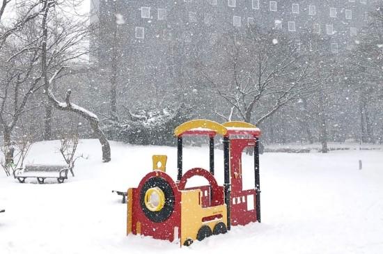 北海道浪漫迷人雪景