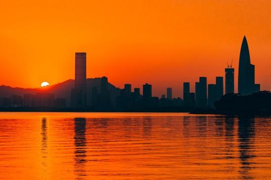 大自然最温柔的夕阳美景
