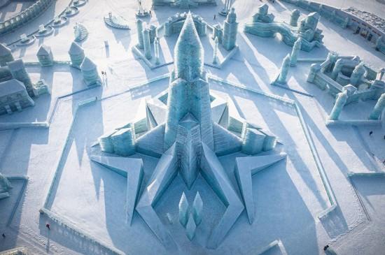哈尔滨冰雪大世界迷人风光