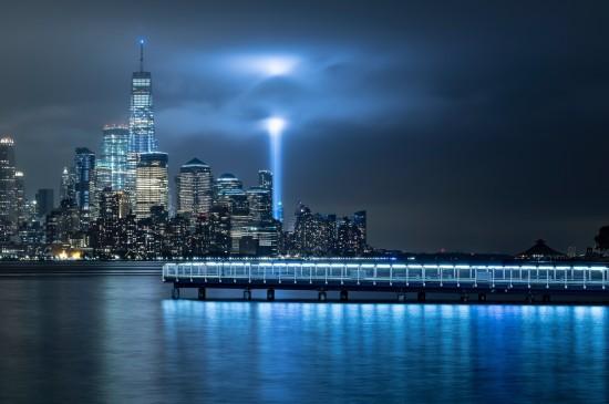绚丽的城市夜景