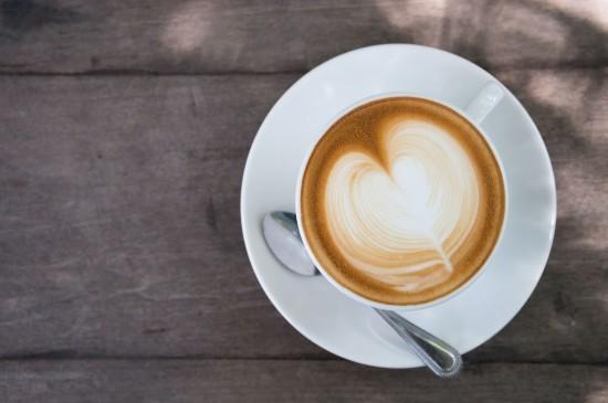 美味诱人的拉花咖啡