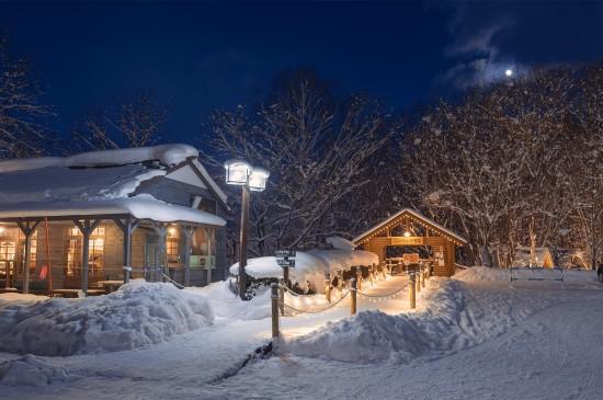 北海道冬天童话世界