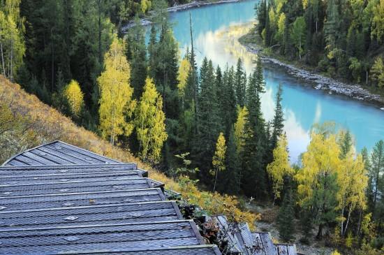 新疆喀纳斯自然美景