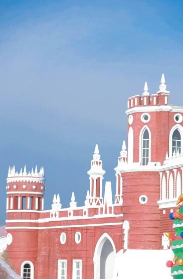 哈尔滨伏尔加庄园梦幻雪景