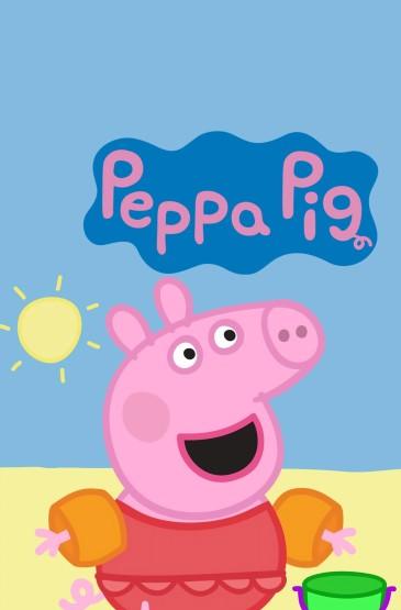 可爱的小猪佩奇系列锁屏