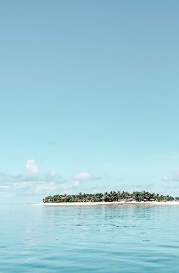 清新的夏日海景