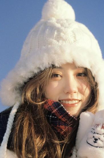 冬日少女温暖甜美写真