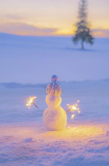 北海道的唯美仙女棒