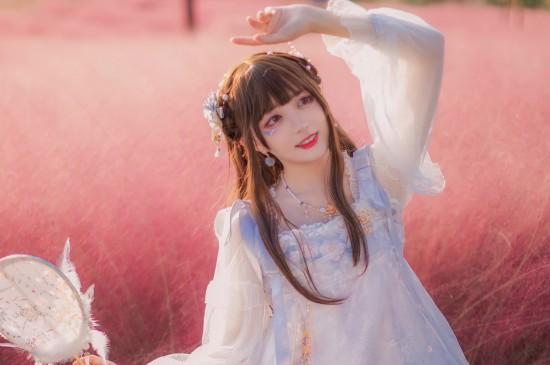 花海少女清甜唯美写真