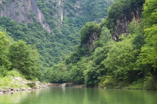 四川小巫峡清新迷人风光