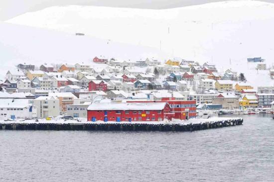 挪威唯美迷人雪景