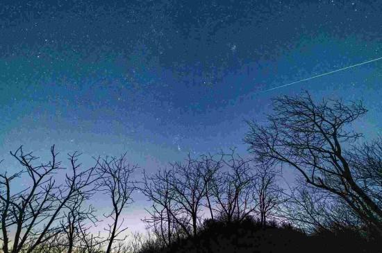 双子座流星雨浪漫唯美景
