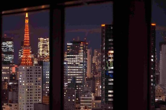 东京城市夜晚迷人风光