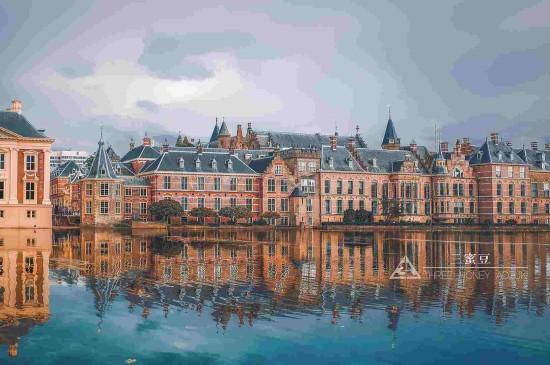 荷兰海牙城市建筑风光