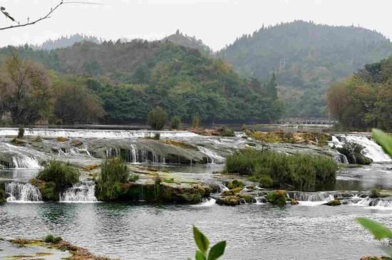 贵州陡坡塘瀑布风光
