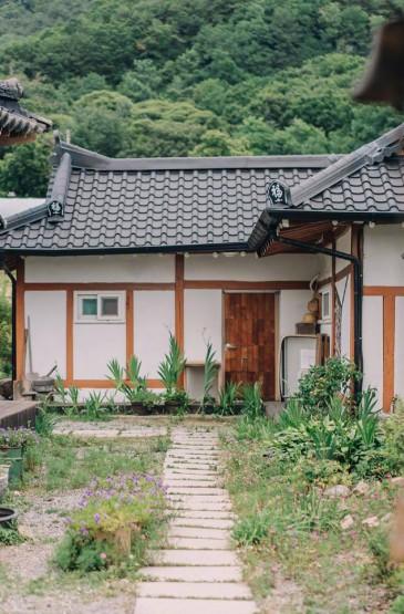 清新现代韩式建筑