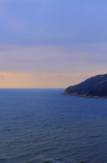 海上黄昏唯美迷人景色