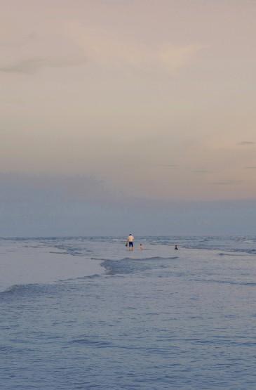 温柔治愈的海边傍晚