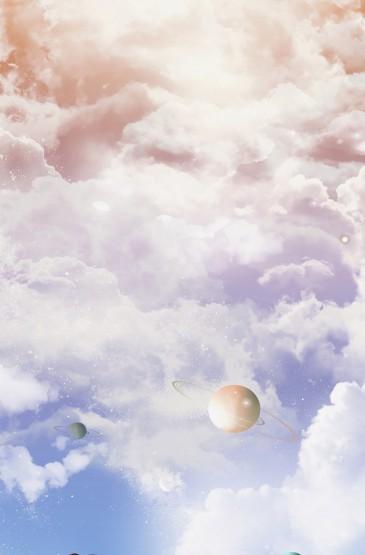 梦幻星球唯美插画
