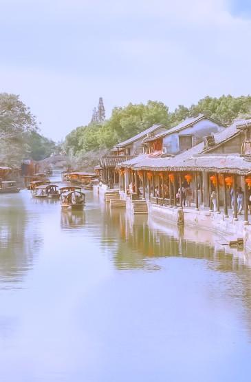 江南小镇迷人风光