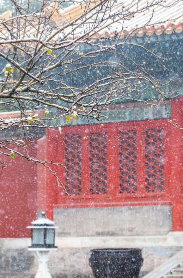 紫禁城唯美迷人雪景
