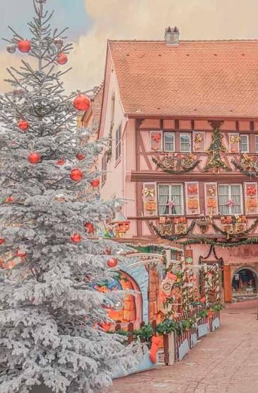 科尔马的童话圣诞节