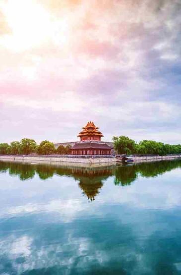 北京故宫角楼绝美景色
